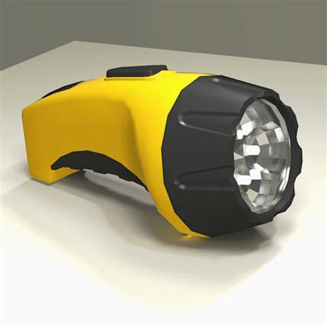Generic Led Flashlight generic led flashlight 3d model formfonts 3d models