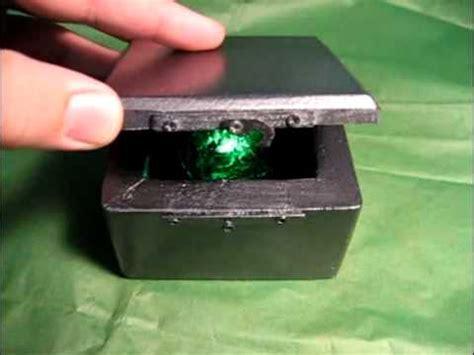 Smallville Replica Kryptonite Box by Smallville Kryptonite Storage Lead Prop Box