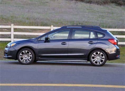 grey subaru impreza hatchback 2013 subaru impreza road test and review autobytel com