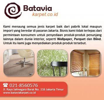 Karpet Jatinegara batavia mitra karpetindo pt jakarta jalan raya jatinegara timur indonesia