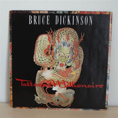 tattooed millionaire bruce dickinson tattooed millionaire iron maiden collector