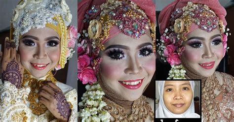 Eyeliner Putih Nyx ini vindy yang ajaib wedding muslim makeup tutorial 2016