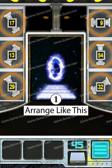 door 45 on 100 doors game 100 doors aliens space level 45 game solver