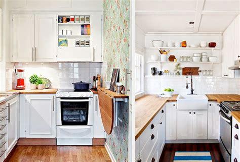 decorar cocinas pequeñas modernas ideas de cocinas