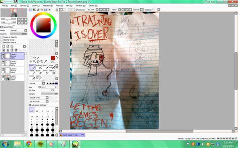 paint tool sai wiki stuff i draw p dumb ways to die wiki fandom powered