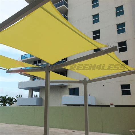 awning sails waterproof 10 x 15 waterproof sun shade sail fabric outdoor canopy