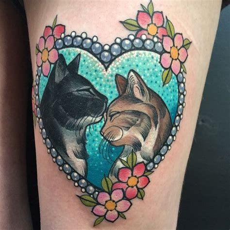 tattoo cat model 130 cat tattoos that are simply the best thing ever
