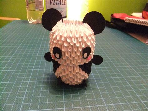 How To Make A 3d Origami Panda - 3d origami panda by phinil on deviantart