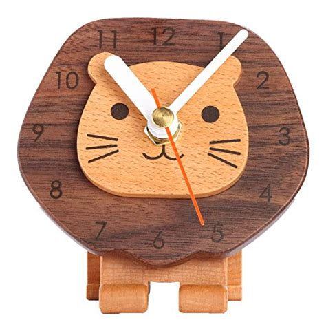 wooden clock designs knowledgebase lion clock for unique personal statement cool ideas for home