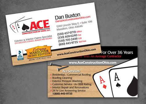 excavating business card templates excavating business cards images business card template