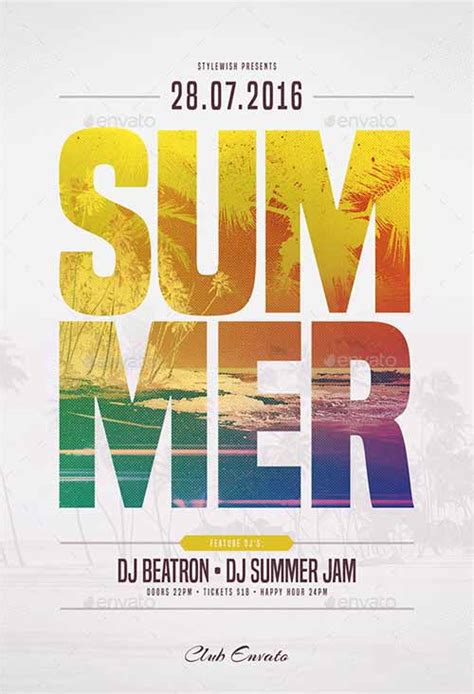 ffflyer download the summer flyer template