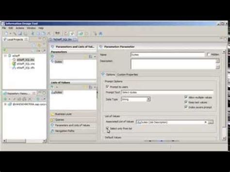 form design tool sap create an index aware prompt sap businessobjects