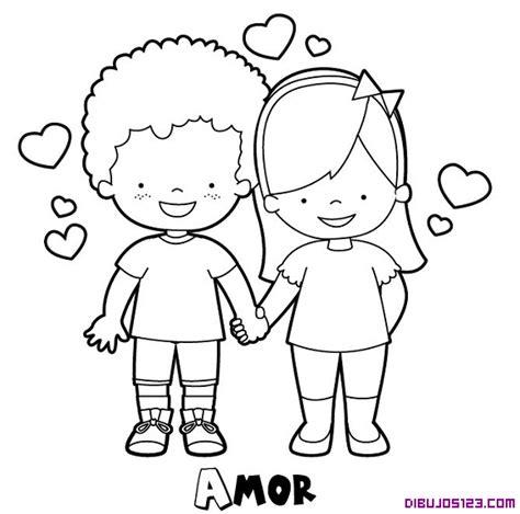 imagenes de amor y amistad infantiles para colorear lindos y tiernos dibujos de amor para pintar colorear