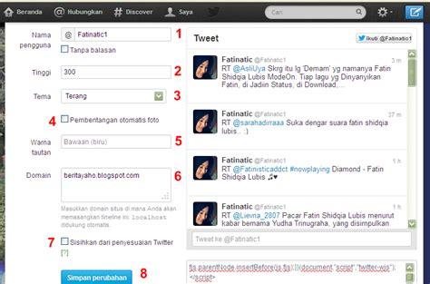 membuat username twitter membuat widget timeline twitter untuk blog mas anwar