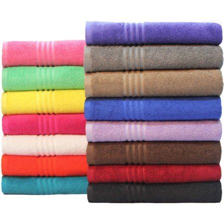 home design brand towels mainstays essential true colors bath towel collection
