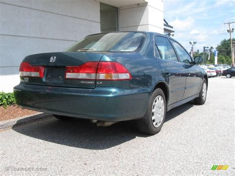 2002 green honda accord 2002 noble green pearl honda accord lx sedan 16759012