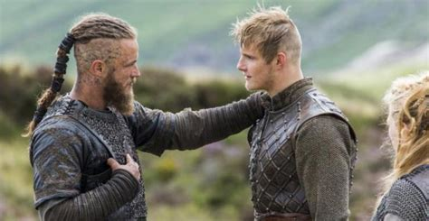 does ragnar get back with his first wife vikings season 3 watch alexander ludwig get a viking
