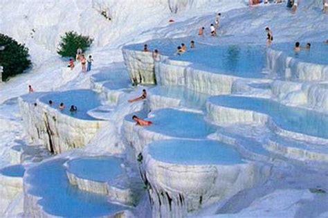 Pamukkale Thermal Pools by Top 10 Natural Springs In The World Wonderslist