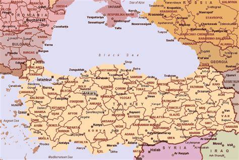 map turkey maps of turkey