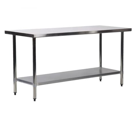 Stainless Steel Kitchen Table by 24 Quot X 72 Quot Stainless Steel Kitchen Work Table Commercial