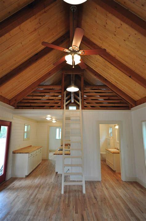 Big Loft Cottage Cabin 16x40 8 Ft Screen Porch Kanga 16x40 Lofted Cabin Floor Plans