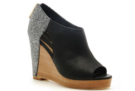 minkoff shoes wooden wedge bootie what s haute