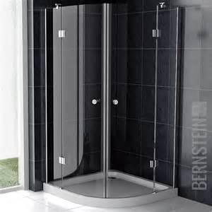 viertelkreis dusche bernstein duschkabine duschabtrennung glas viertelkreis