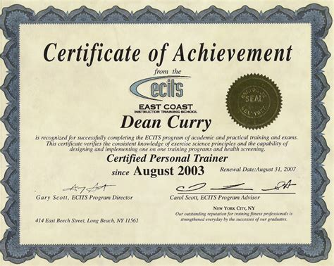 army certificate of achievement exle it resume cover