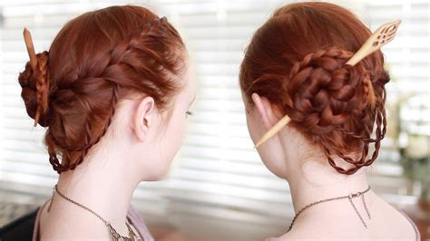 Renaissance Hairstyles by Renaissance Faire Updo Tutorial
