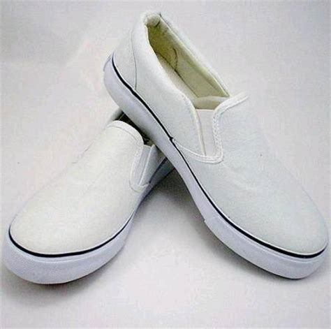 plain white canvas slip on shoes 2 id 3310056 product