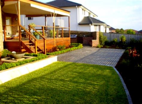 easy backyard landscaping backyard landscaping ideas with hill joy studio design gallery best design