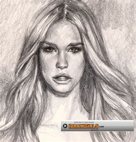 drawing hair how to draw hair drawing and digital painting tutorials
