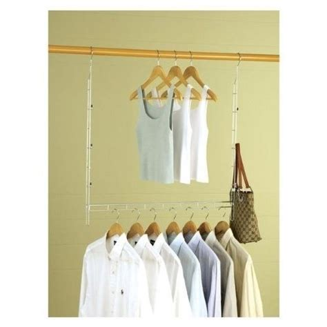 Space Saver Closet Hangers by Closet Organizer Clothes Space Saver Expand Hanger Durable