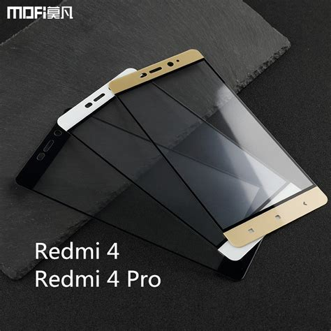 Promo Tempred Glass Warna Xiaomi Redmi 4 Prime for xiaomi redmi 4 pro glass for xiaomi redmi 4 glass redmi 4 prime tempered glass mofi redmi 4
