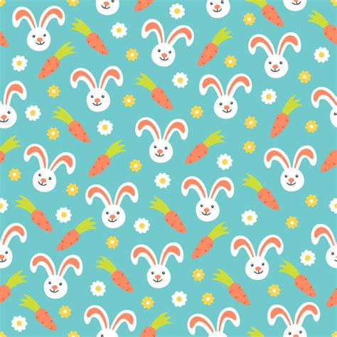 free eastern pattern background cute easter seamless pattern design vector 09 vector