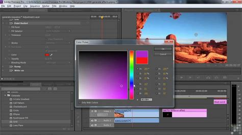 tutorial adobe premiere effects adobe premiere pro cs6 tutorial generate effects