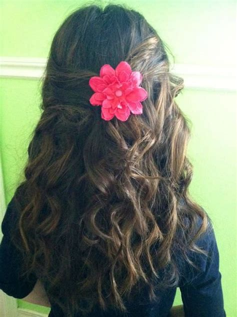 easy hairstyles down for long hair easy hairstyles for little girls with long hair 10 best