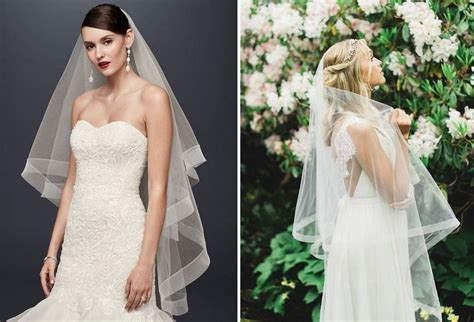 Gaun Pengantin Ballgown Tanpa Ekor 5 pasangan veil dan gaun pengantin yang tepat weddingku