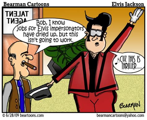 What Is A Artist Manager by 6 28 09 Bearman Michael Jackson Elvis Impersonator Flickr