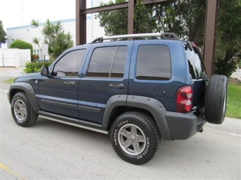 Jeep Liberty Trail Buy Used 2005 Jeep Liberty Renegade 4x4 Trail 3 7