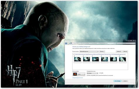 Themes For Windows 7 Harry Potter | harry potter windows 7 theme download