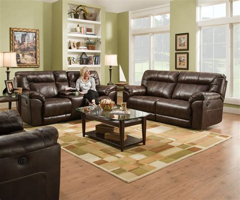 simmons harrison tobacco sofa simmons upholstery 50571br 50571powermotionloveseat casual