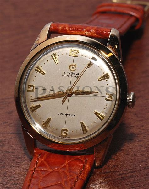 cyma quot cymaflex quot vintage in steel gold passions