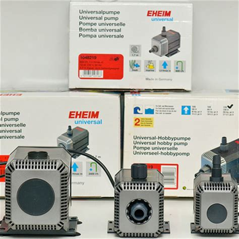 Pompa Celup Eheim eheim pumps 1048 1250 and 1260 the total comparative
