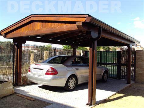 cocheras de madera garajes de madera