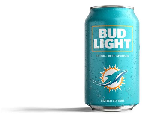 dolphins fans bud light has created a can just for you
