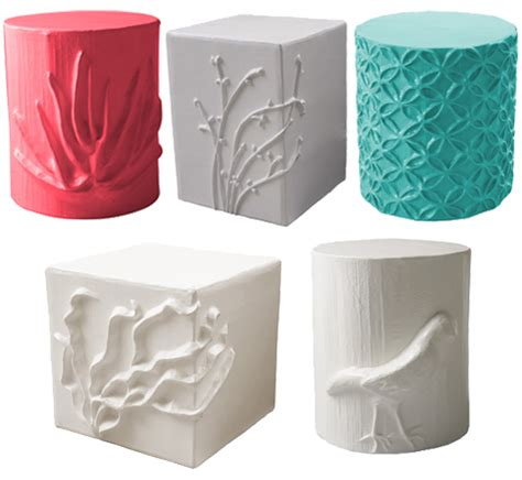paper mache ideas for home decor giving paper a new life papier m 226 ch 233 stools by stray dog
