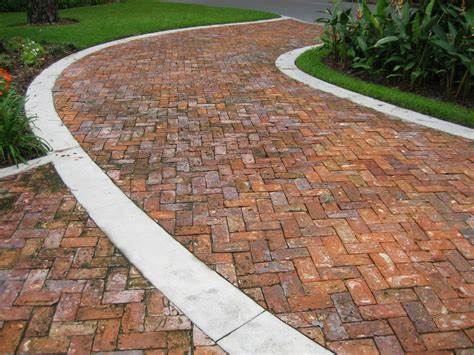 Brick Pavers Patio by Clay Brick Pavers Driveway Pavers Orlando Florida