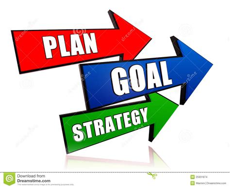 plan images plan goal strategy stock images image 25931874