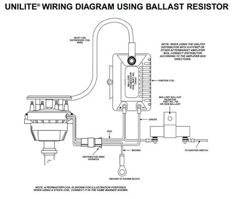 wiring diagram mallory dual point distributor get free